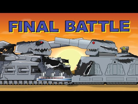 """""""The Decisive Battle - but who is the winner?"""" - Cartoons about tanks"""
