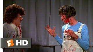 UHF (5/12) Movie CLIP - Saw Demonstration (1989) HD