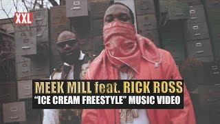 "XXL Presents: Meek Mill Feat. Rick Ross ""Ice Cream (Freestyle)"""
