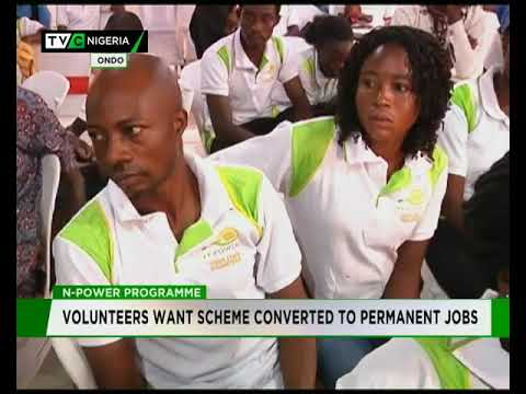 Ondo N- POWER Volunteers want programme converted to Permanent Job