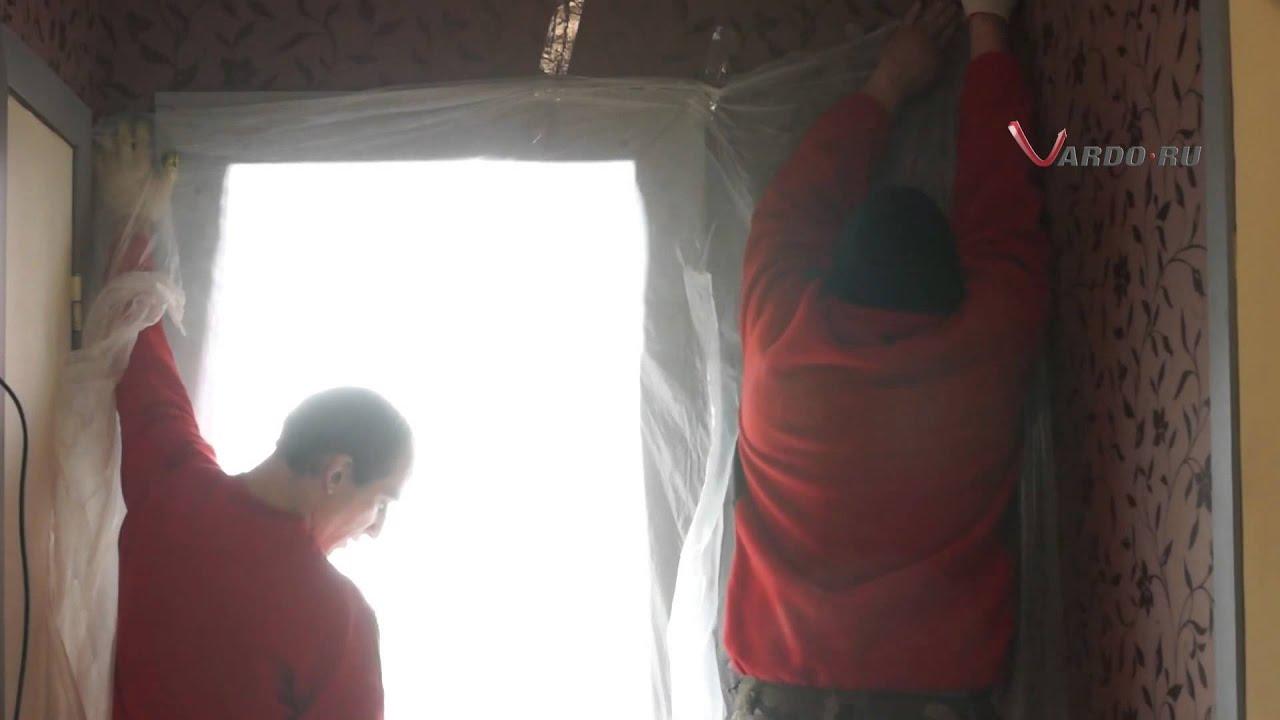 установка стальной двери в доме п 44