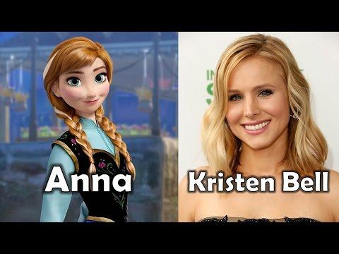 Characters and Voice Actors - Frozen