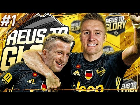 THE BEGINNING  Reus To Glory 1  FIFA 19 Road To Glory