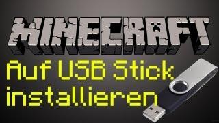 Minecraft auf USB-Stick installieren Tutorial German/Deutsch [HD] - TutorialChannel