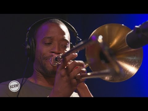 """Trombone Shorty performing """"Where It At?"""" Live on KCRW"""