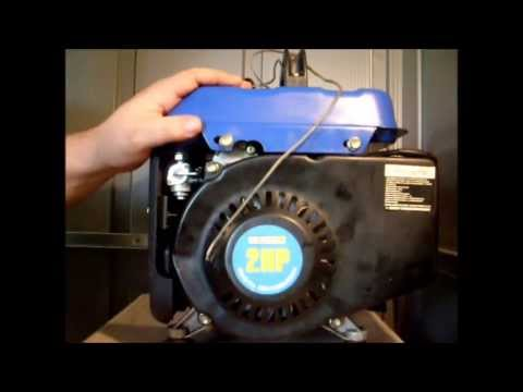 Contractor Line - Chinese 2 Cycle Generator Starter Repair - Part 1 (Harbor Freight Yamaha Clone)