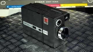 Eastman Kodak Instamatic M16 Movie Camera Vintage Super 8 Made in USA 1967 - 1969
