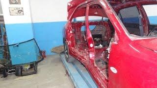 Mitsubishi Lancer 9. повреждения.