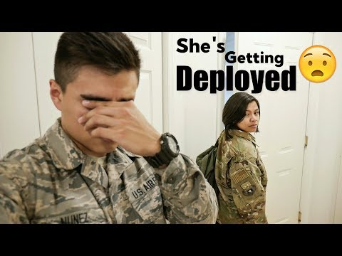 SHE'S GETTING DEPLOYED! | Military Deployment In The Air Force