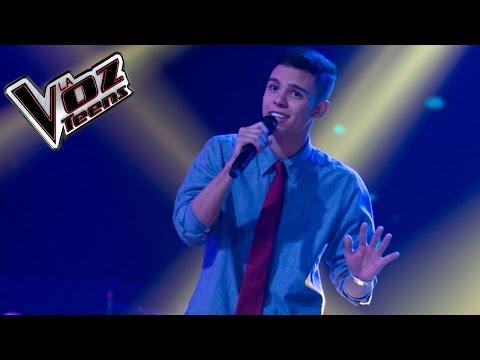 Navales canta 'La invitación' | Audiciones a ciegas | La Voz Teens Colombia 2016