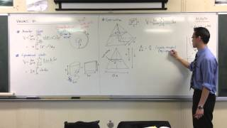 Introduction to Volumes by Similar Cross-Section: Square Pyramid