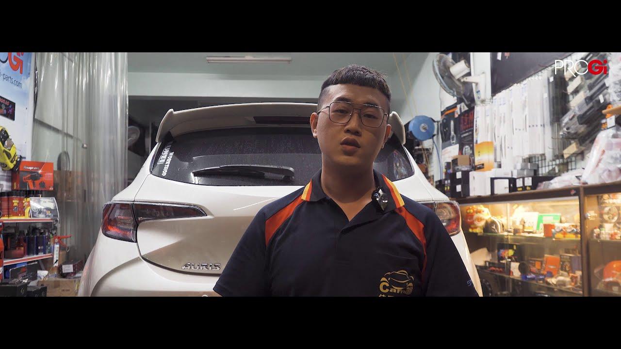 PROGi Toyota Auris全車式倒插避震器安裝心得分享