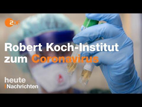 Coronavirus In Deutschland: Robert-Koch-Institut Informiert