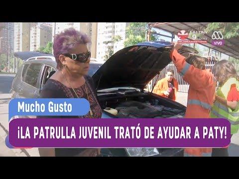 ¡La Patrulla Juvenil destruyó el auto de Paty Maldonado! - Mucho gusto 2017