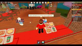 ROBLOX I deliver and make pizzas (Work at a Pizza Place)
