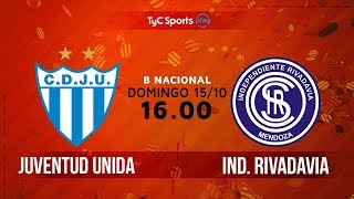 Juv.Unida Gualeguaychu vs Independiente Rivadavia full match