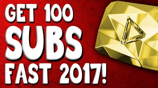 Video HOW TO GET YOUTUBE SUBSCRIBERS FAST 2017! - Get your first 100 subs fast and easy! download MP3, 3GP, MP4, WEBM, AVI, FLV Juli 2018