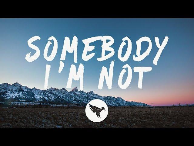Martin Jensen, Bjørnskov - Somebody I'm Not (Lyrics)