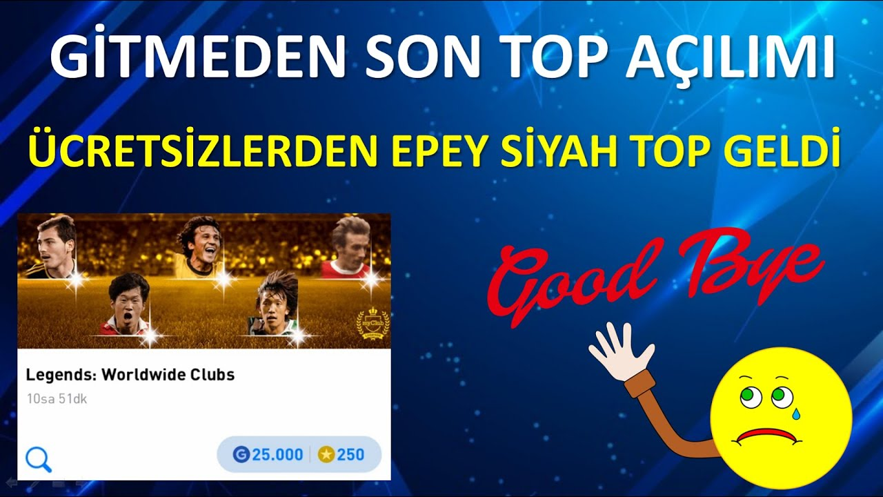 EFSANE BOX DRAW GİTMEDEN SON TOP AÇILIMI (Pes 2021 Mobile)