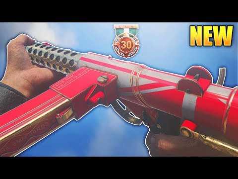 STERLING SMG DLC WEAPON IS INSANE in COD WW2! EPIC STERLING ROYAL DECREE! (COD WWII NEW OP DLC SMG)