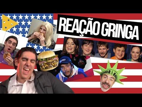 GRINGOS REAGEM À SÁTIRA DO ADNET SOBRE AMERICANOS