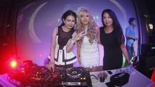 DJ Pingkan Stephany feat Davici - Clarity Live PA at King Crown bangka
