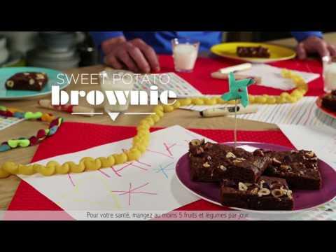 Recette de Brownie sans oeufs, sans farine !