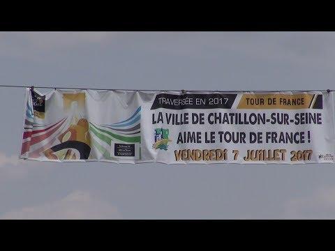 tour de France 2017 à Châtillon sur Seine