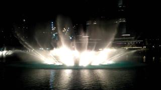 Dubai Fountain - The Prayer