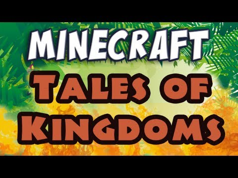 Minecraft Tale of Kingdoms E01 Sir Punchwood Arrives (Silly Role-Play)