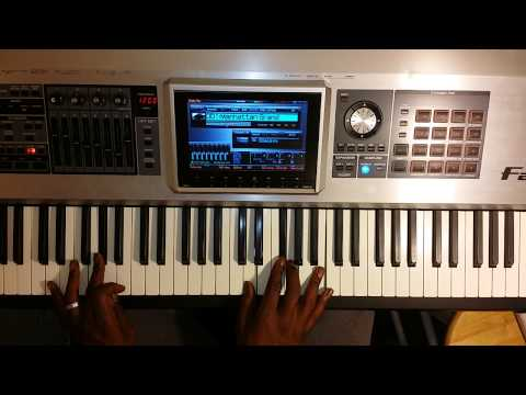 How to play congregational gospel songs on piano in C with a jazzy style.