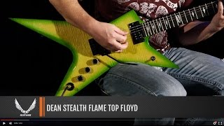 Dean Guitars Stealth Flame Top Floyd