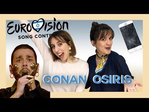REAGIMOS AO CONAN OSIRIS - TELEMOVEIS | EUROVISÃO 2019