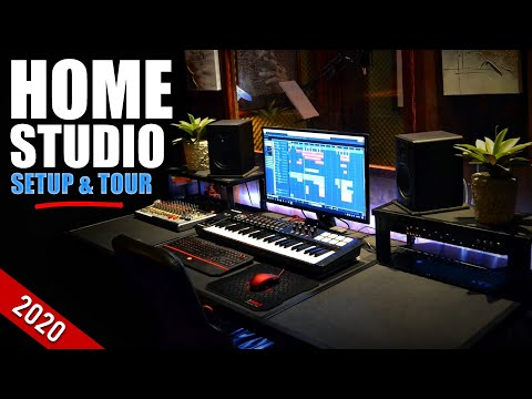 Budget Home Studio Setup For Producers 2020 | Home Studio Tour 2020 South Africa