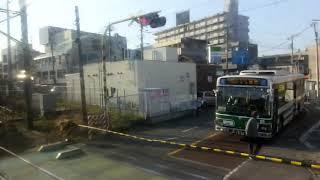JR東日本209系MT68 側面展望 物井→千葉(総武本線普通) マリC418編成