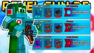THE PERFECT COMBINATION MODULES FOR BACK UP WEAPONS 1 SHOT KILL EVERY TIME! | Pixel Gun 3D
