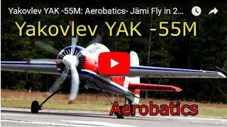 🎉Yakovlev YAK -55M: Aerobatics