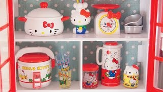 Hello Kitty Kitchen Re-ment Unboxing