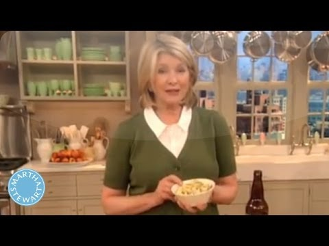 Irish Cheese Fondue - Martha Stewart