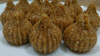 Coconut jaggery modak | नारियल गुड़ मोदक रेसिपी | Modak recipe in Hindi / Ganesh Chaturthi Special