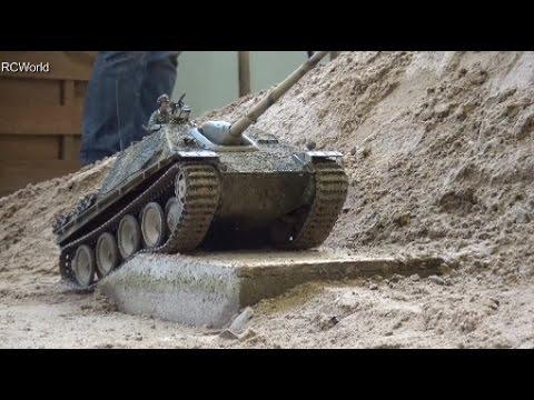 RC Tanks Panzer Tiger Leopard 2 StuG III ♦ Treffpunkt Modellbau Paaren 2016