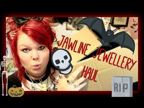Jawline Jewellery Haul 2016 - Skulls and Bones