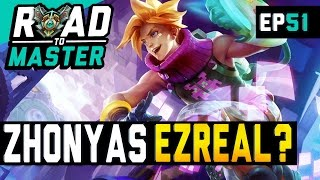 ZHONYAS AS A DEFENSIVE ITEM? - Ezreal ADC Road to Master Ep 51 (League of Legends)
