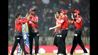 All Wickets Sylhet Sixers vs Comilla Victorians   16th Match   Edition 6   BPL 2019
