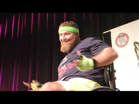 All hail, wheelchair dancer Jason Homer is a 610 Stomper