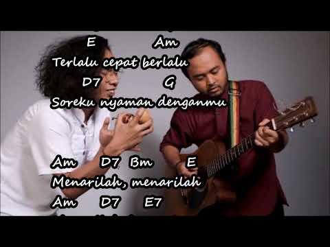 Fourtwnty Fana Merah Jambu Chord lirik