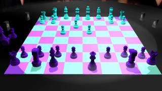 Tanner Clark 3D Chess Animation