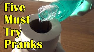 5 Must Try Pranks and Booby Traps