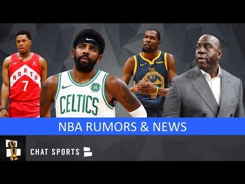NBA Rumors: Magic Johnson, Lakers Rumors, Kyrie Irving Free Agency, & 2019 NBA Draft Promises