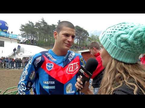 Jose Butron pre-grid interview MXGP of Trentino 2015 - motocross